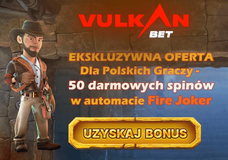Bonus bez depozytu w kasynie Vulkan Bet – Tylko dla Gry Hazardowe Za Darmo!
