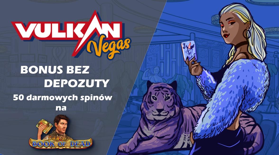 Ekskluzywny bonus Vulkan Vegas – 50 darmowych spinów!