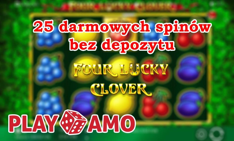 Bonus bez depozytu Playamo – 25 darmowych spinów!