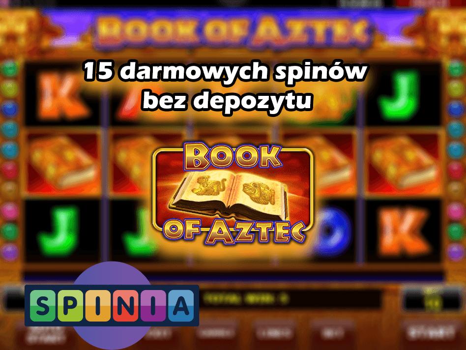 Bonus bez depozytu w kasynie Spinia – 15 darmowych spinów!